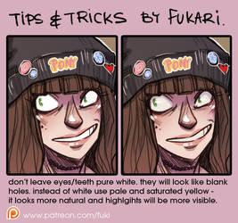 coloring tip by Fukari