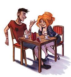 coffee talk by Fukari
