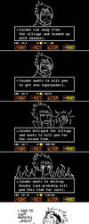 Naruto meets Undertale by Fukari