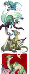 Derpik the dragon by Fukari
