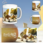 Smellegg custom mug by Silver-Iruka