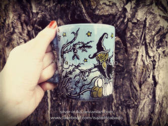 Cats, bats, pumpkins and ghosts 2 by Silver-Iruka