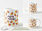Enjoy today mug by Silver-Iruka
