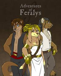 Adventures of Feralys (Comic) by princessrei