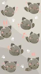 Tabby Slime Phone Background by Shyameimaru