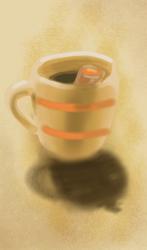 Coffee time by iloveDooM