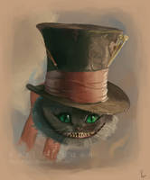 Tim Burton's Cheshire Cat by Miss-Madd