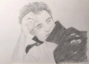 Robert Pattinson by UtterlyAbsurdBella
