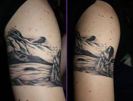 Raven Tattoo by SugarZombieDoll