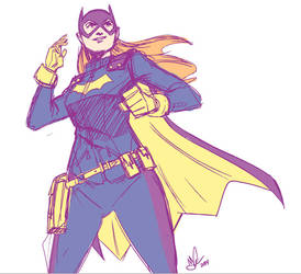 New Batgirl! by jakecastorena