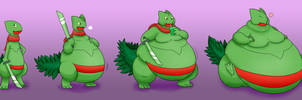 Scep Gets Fat! by ChocEnd