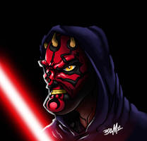 Darth Maul by bigMdesign