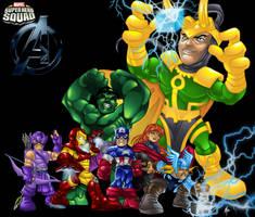 Super Hero Squad Avengers by bigMdesign
