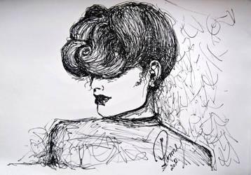 Fashion Illustration-Sketch II by Renny222