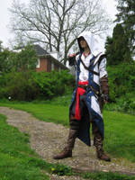 The Davenport Homestead (Connor Kenway cosplay) by TimeyWimey-007