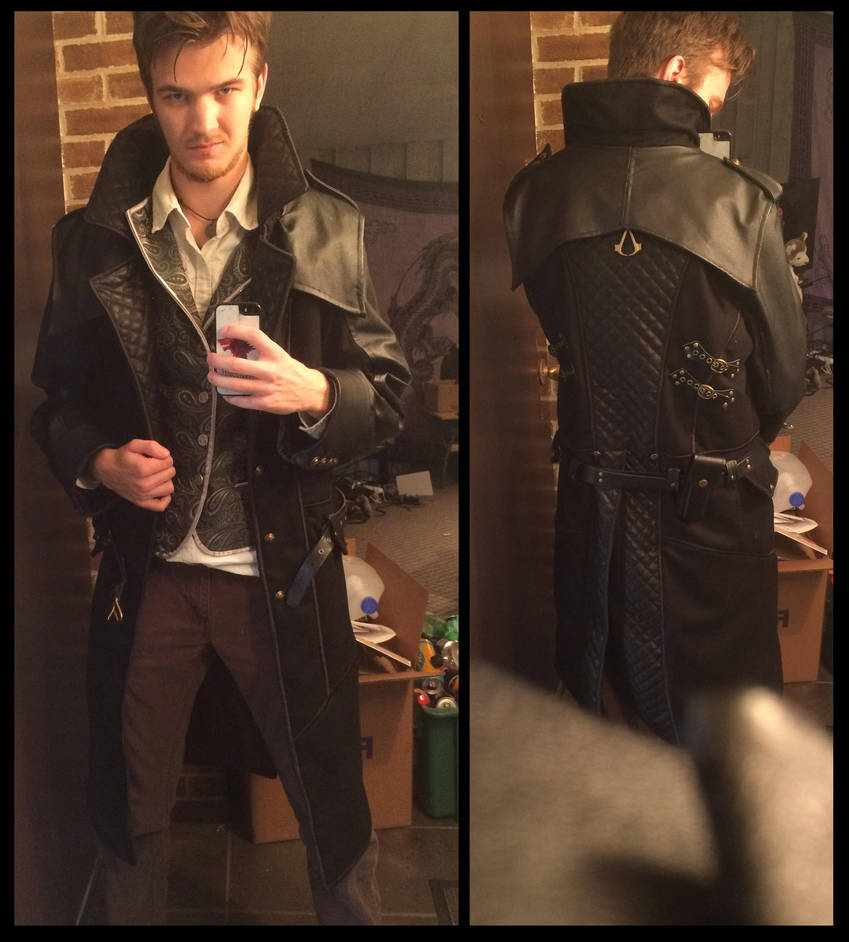Jacob Frye coat (Assassin's Creed Syndicate) by TimeyWimey-007