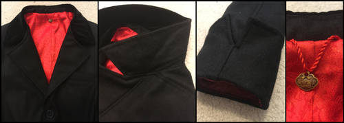 Peaky Blinders Tommy Shelby cosplay coat details by TimeyWimey-007