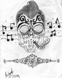 Caveira Mexicana 2 by darvinha