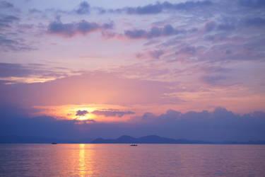 Coron Sunset II by josephacheng