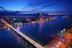 Son Tra Skyline: Danang City by josephacheng