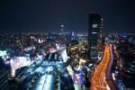 Osaka Skyline: Namba by josephacheng