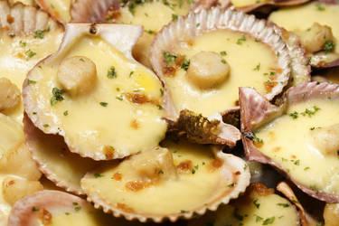 Baked Scallops by josephacheng