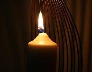 Burn, Burn, Burn little Candle by MissesCoffee