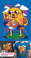 Jake's Bacon Pancakes T-Shirt by TheRealRaki