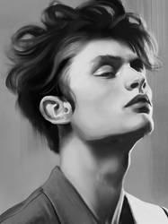 Portrait Study 9 by Jezart12