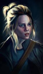 Portrait Study by Jezart12