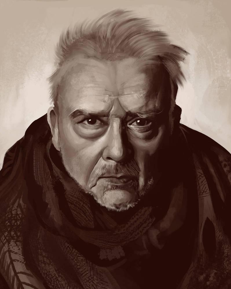 Old Man (Study) by Jezart12