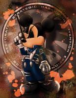 Disney vs Marvel: Mick Fury by steevinlove