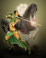 Mulan: Dynasty Warrior by steevinlove