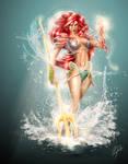 Ariel: Siren of the Deep by steevinlove
