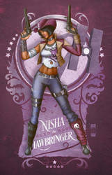 Nisha The Lawbringer by steevinlove