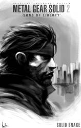 Solid Snake by CrazyDwarf