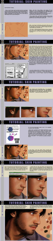 SKIN PAINTING TUTORIAL by CrazyDwarf
