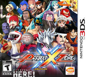 Project X Zone And Knuckles But It Had Been Update by Antogames