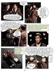 Arthur+Ford Comic part 1 by JanxSpirit