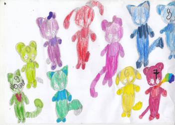 The Numberjacks Pets by EmeraldZebra1234
