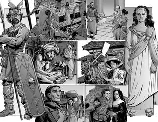 House of Mystery 13 spread by whatwouldjoshdo