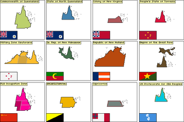 12 Queenslands by KitFisto1997