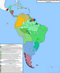 Map of South American (Rev! Redux) by KitFisto1997