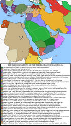 Map of the Middle East (Rev! Redux) by KitFisto1997