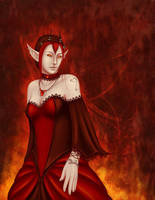 Cinders and Lace by darchala