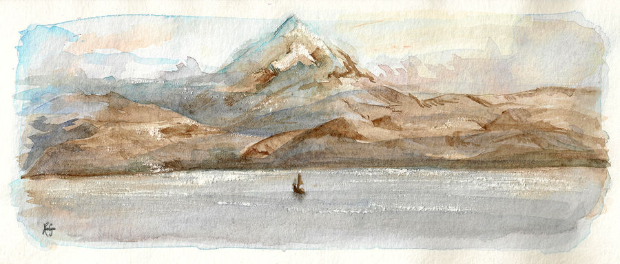 The Lonely Mountain by KuroCyou