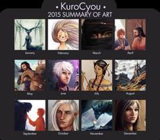 2015 Summary of Art by KuroCyou