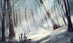 Winter Forest by KuroCyou
