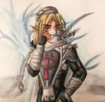 Sheik - Copic Marker Illustration by nasexsavkifs