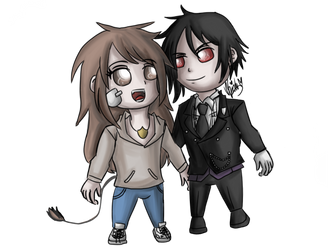 Commission: Zara and Sebastian by nasexsavkifs
